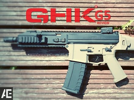 GHK G5 GBB Rifle