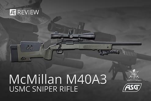 ASG McMillan M40A3 Spring Sniper Rifle