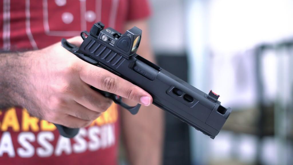Action Air Open Division Pistol