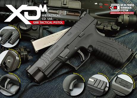 WE Springfield Armory XDm GBB Pistol