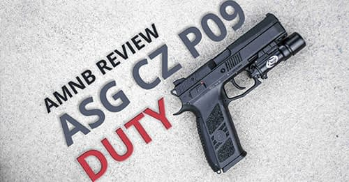 ASG CZ P-09 Duty GBB Pistol