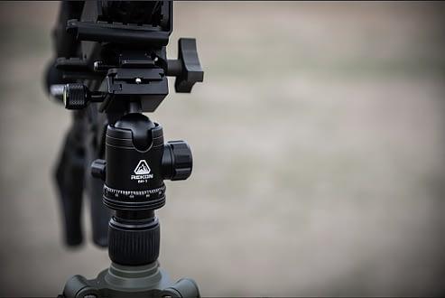 Rekon Shooting Tripod holds Everything